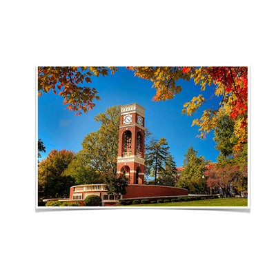 ETSU - Autumn Alumni Plaza - College Wall Art#Poster