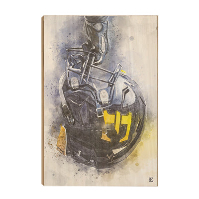 ETSU - Battle Ready - College Wall Art#Wood
