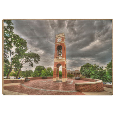 ETSU - Carillon Storm - College Wall Art#Wood