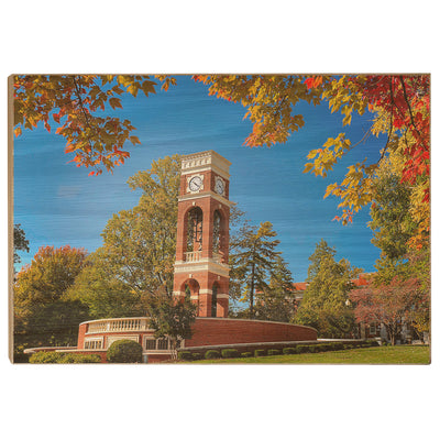 ETSU - Autumn Alumni Plaza - College Wall Art#Wood