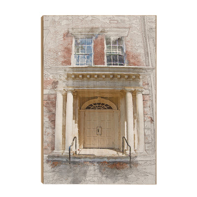 ETSU - The Door Sketch - College Wall Art#Wood