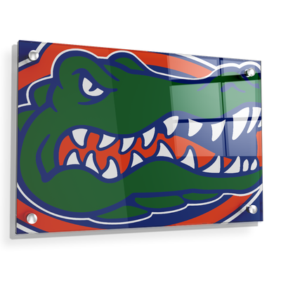 Florida Gators - Gator - College Wall Art #Acrylic