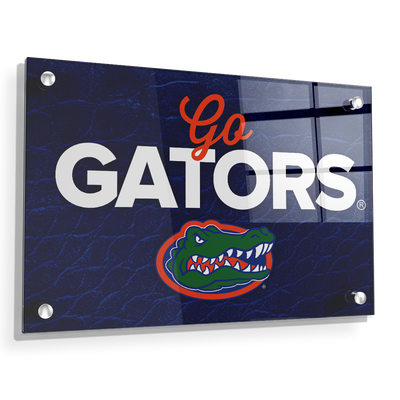 Florida Gators - Go Gators - College Wall Art #Acrylic