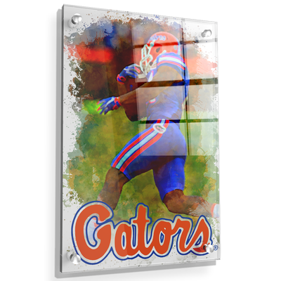 Florida Gators - Gator Run - College Wall Art #Acrylic