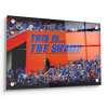 Florida Gators - Swamp Sign - College Wall Art #Acrylic
