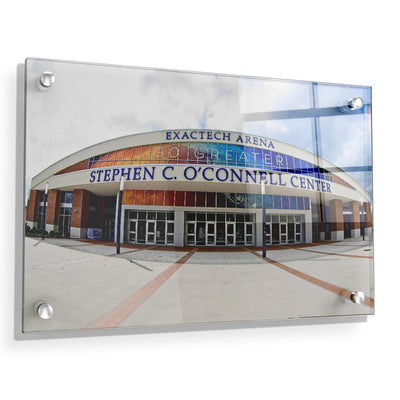 Florida Gators - O'Connell Center - College Wall Art #Acrylic