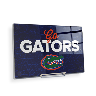 Florida Gators - Go Gators - College Wall Art #Acrylic Mini
