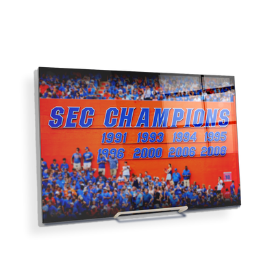 Florida Gators - SEC Champs Sign - College Wall Art #Acrylic Mini