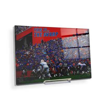 Florida Gators - In the Swamp - College Wall Art #Acrylic Mini