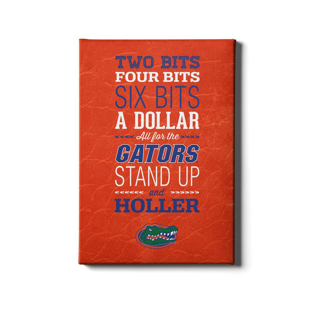 Florida Gators - Mr Two Bits #Canvas