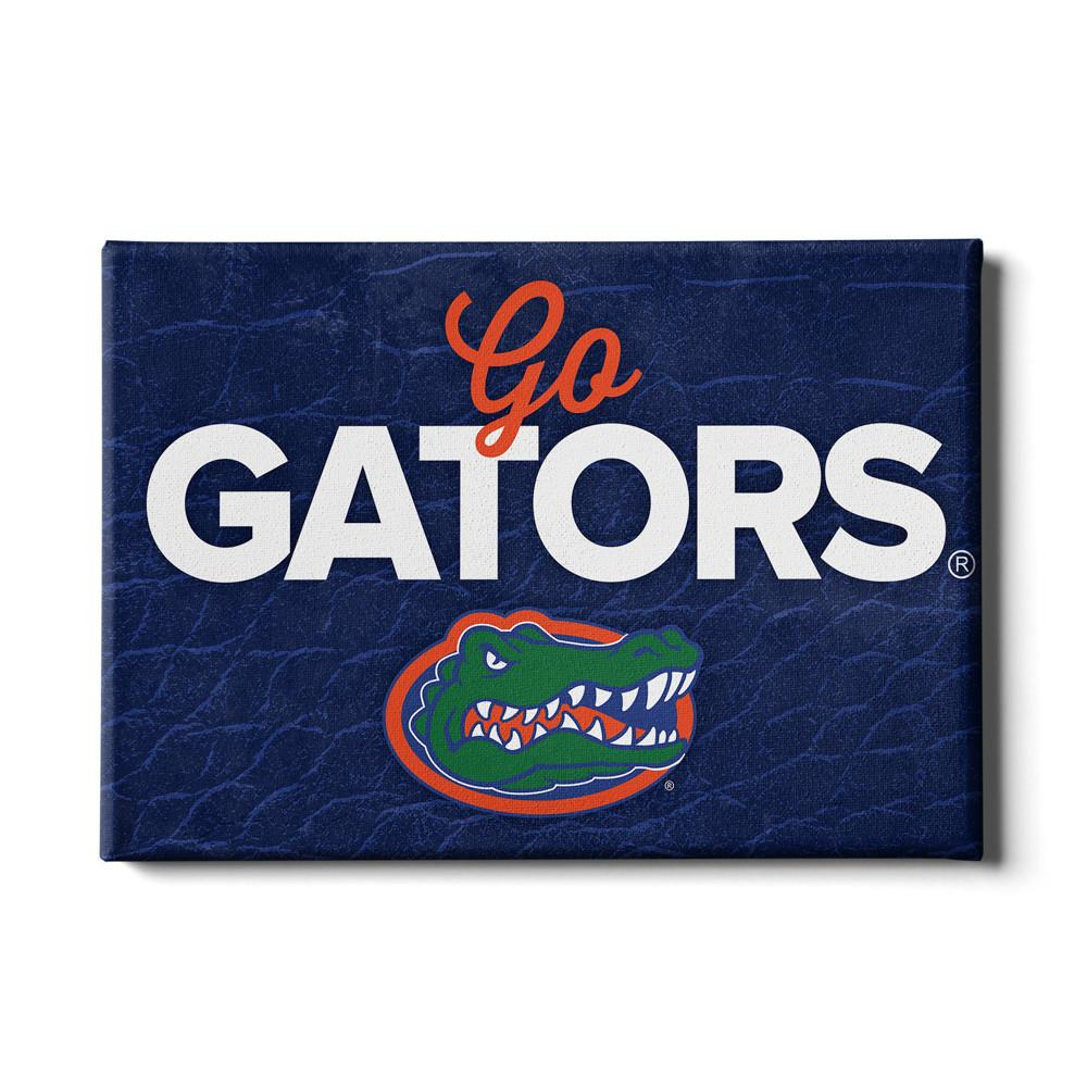 Florida Gators - Go Gators #Canvas