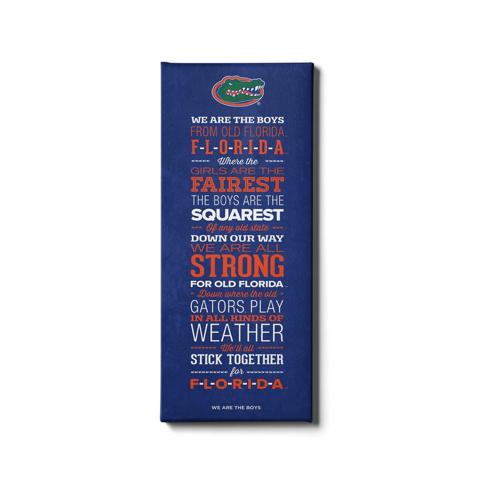 Florida Gators - We Are The Boys - College Wall Art #Canvas