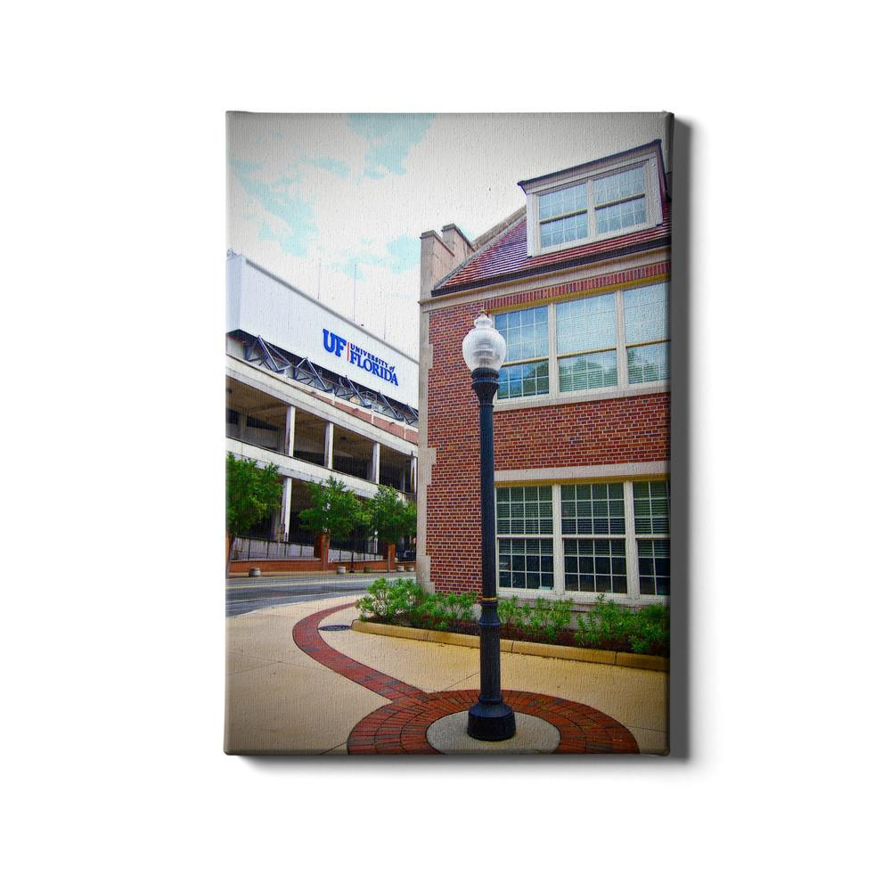 Florida Gators - UF Street Lamp #Canvas