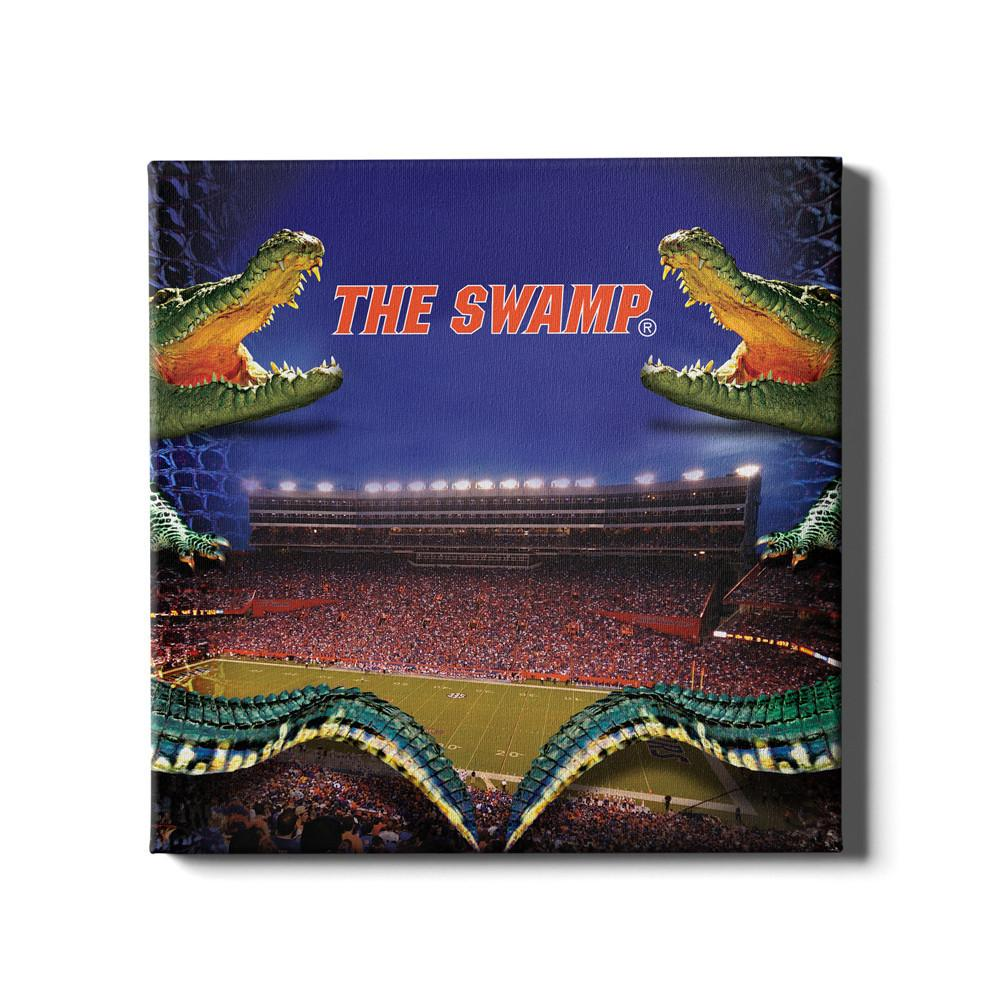 Florida Gators - Night Gator #Canvas