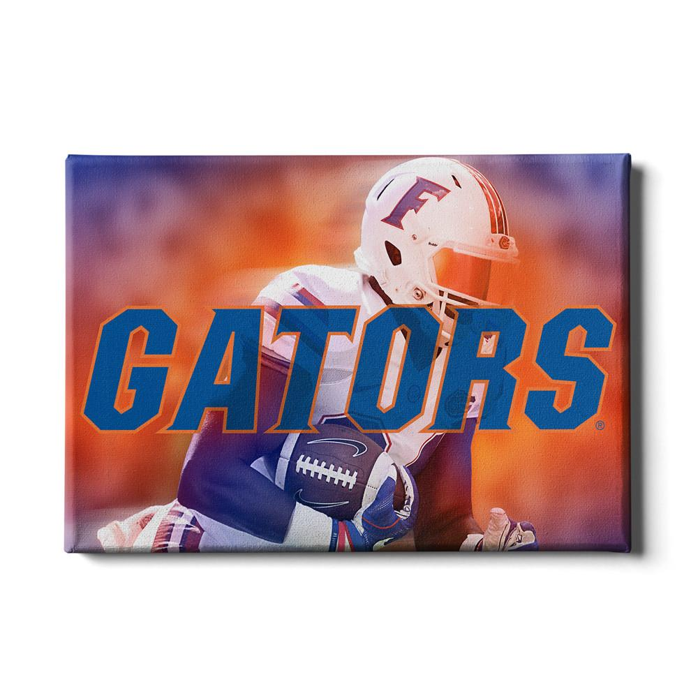 Florida Gators - Throw Back Run #Canvas