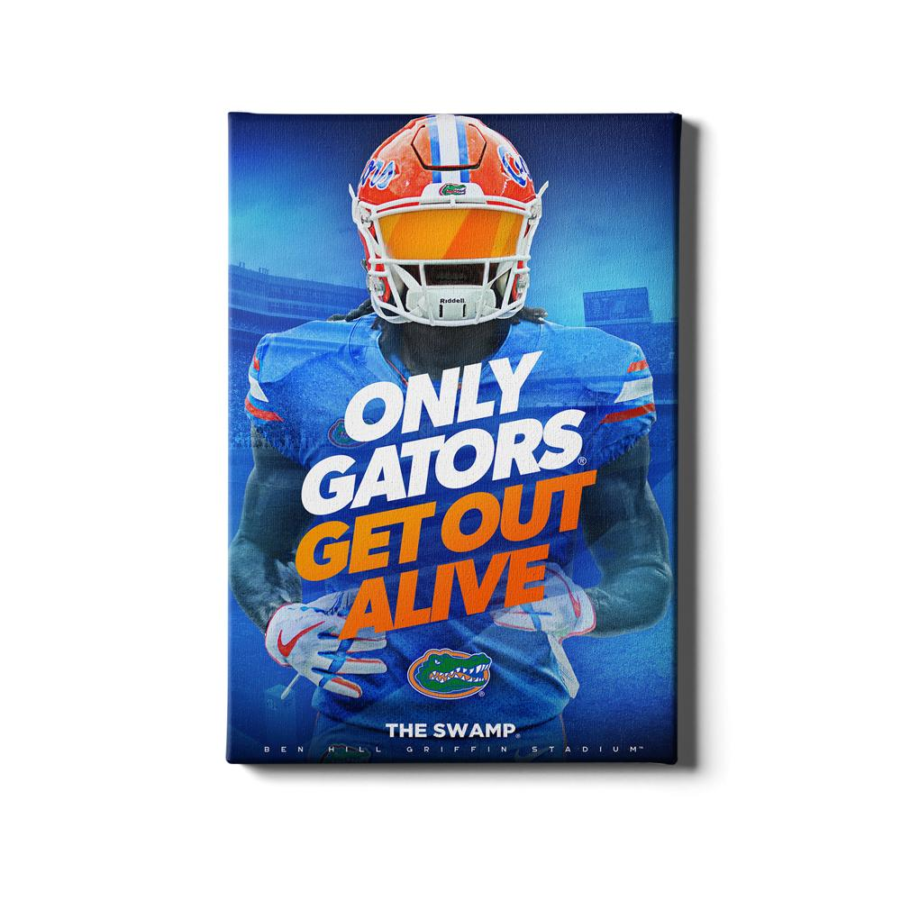 Florida Gators - Only Gators - College Wall Art #Canvas