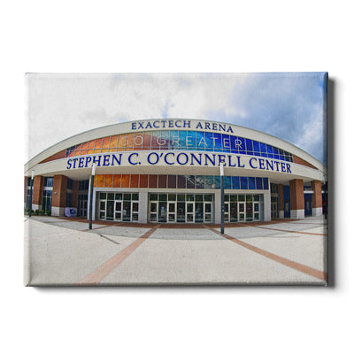 Florida Gators - O'Connell Center - College Wall Art #Canvas