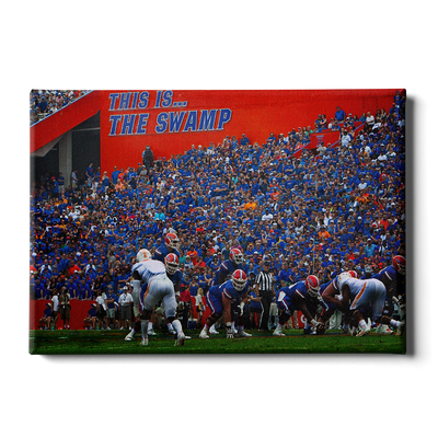 Florida Gators - In the Swamp - College Wall Art #Canvas
