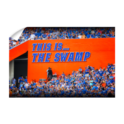 Florida Gators - Swamp Sign - College Wall Art #Wall Decal