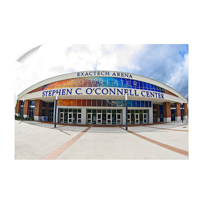 Florida Gators - O'Connell Center - College Wall Art #Wall Decal