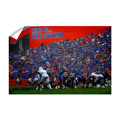 Florida Gators - In the Swamp #Wall Decal