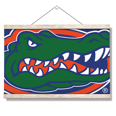 Florida Gators - Gator - College Wall Art #Hanging Canvas
