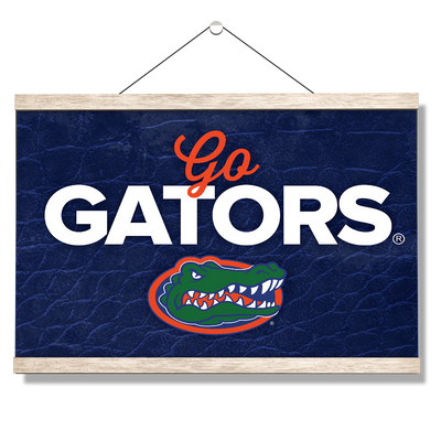 Florida Gators - Go Gators - College Wall Art #Hanging Canvas