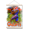Florida Gators - Gator Run - College Wall Art #Hanging Canvas