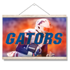 Florida Gators - Throw Back Run - College Wall Art #Hanging Canvas