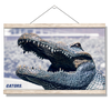 Florida Gators - Bull Gator Up Close - College Wall Art #Hanging Canvas