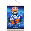 Florida Gators - Only Gators - College Wall Art #Hanging Canvas