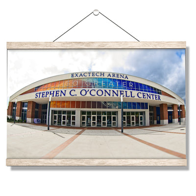 Florida Gators - O'Connell Center - College Wall Art #Hanging Canvas