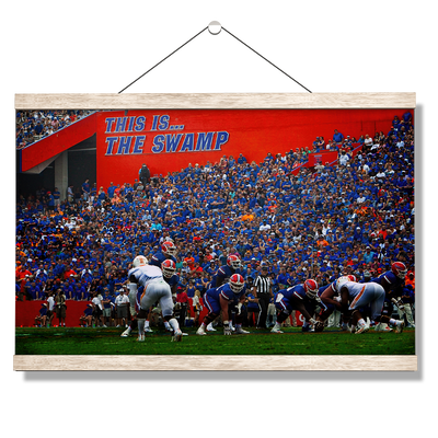Florida Gators - In the Swamp - College Wall Art #Hanging Canvas