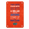 Florida Gators - Mr Two Bits - College Wall Art #Metal