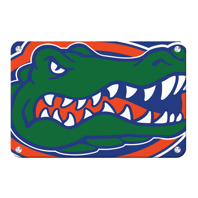 Florida Gators - Gator - College Wall Art #Metal