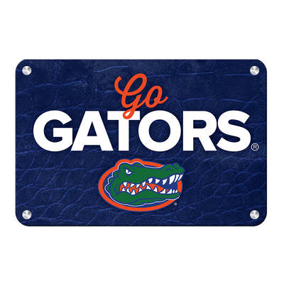 Florida Gators - Go Gators - College Wall Art #Metal