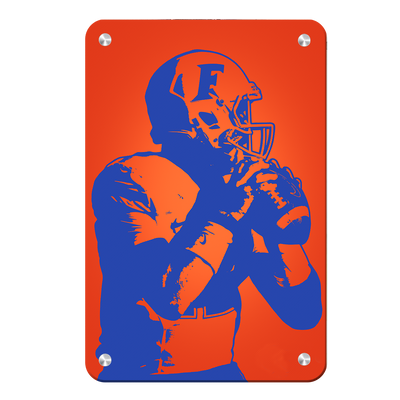 Florida Gators - Gator Pass - College Wall Art #Metal