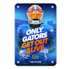 Florida Gators - Only Gators - College Wall Art #Metal