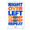 Florida Gators - Chomp Chomp - College Wall Art #Metal