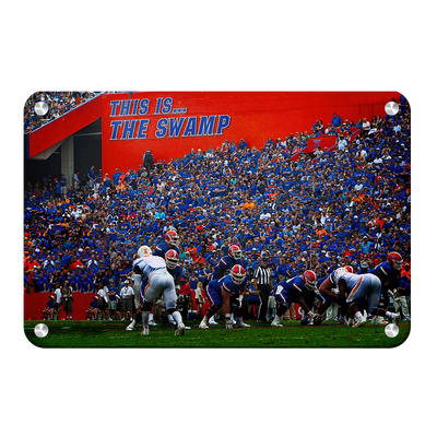 Florida Gators - In the Swamp - College Wall Art #Metal
