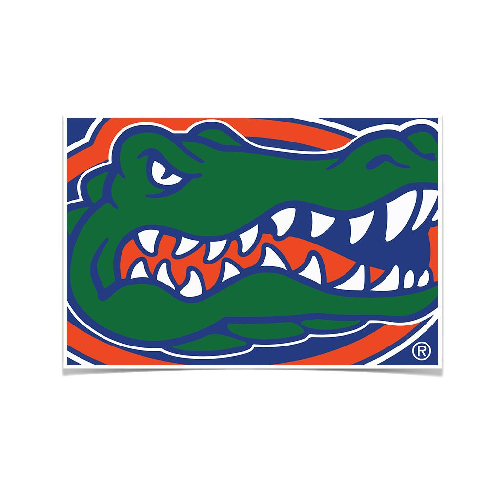 Florida Gators - Gator - College Wall Art #Canvas