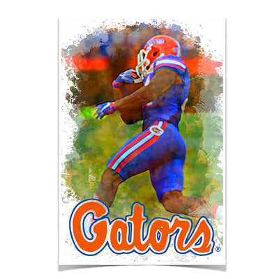 Florida Gators - Gator Run - College Wall Art #Poster
