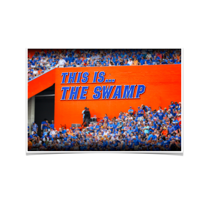Florida Gators - Swamp Sign - College Wall Art #Poster