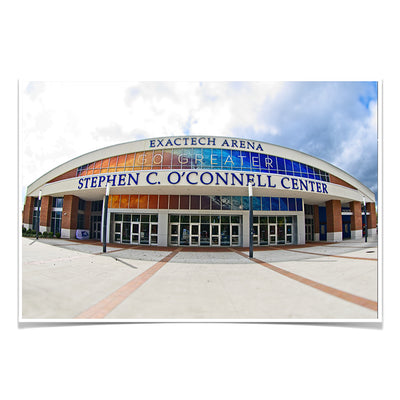 Florida Gators - O'Connell Center - College Wall Art #Poster