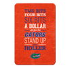 Florida Gators - Mr Two Bits - College Wall Art #PVC