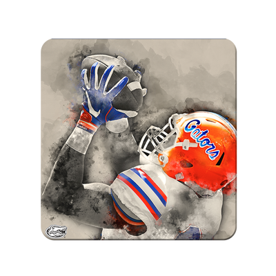 Florida Gators - The Catch Watercolor - College Wall Art #PVC