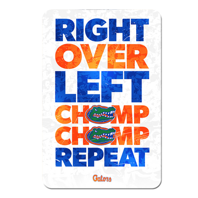 Florida Gators - Chomp Chomp - College Wall Art #PVC