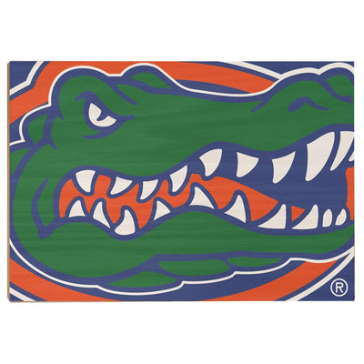 Florida Gators - Gator - College Wall Art #Wood