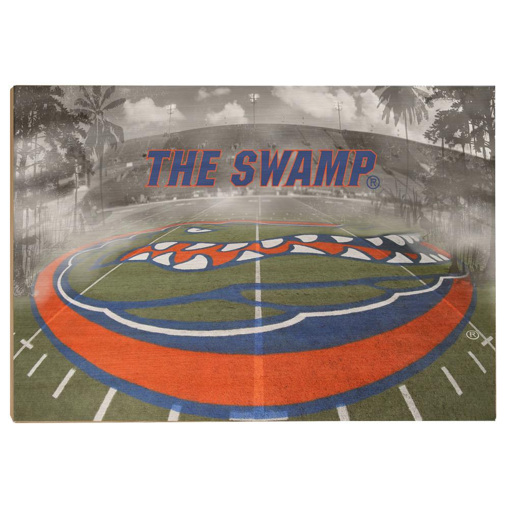 Florida Gators - This is the Swamp - College Wall Art #Canvas