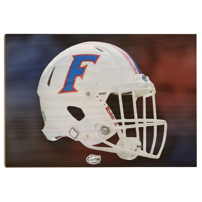 Florida Gators - Florida Helmet - College Wall Art #Wood